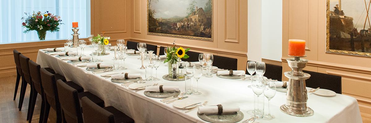 Private dining in de Salon | Art & Dining in Dordrecht | Privé zaal en gelegenheid voor diner