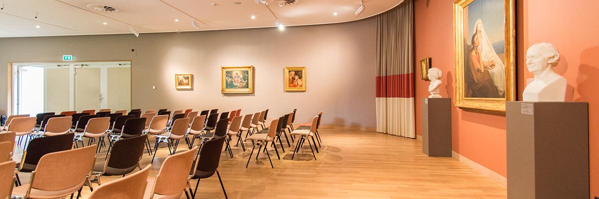 Zaal / auditorium van Art & Dining in Dordrecht